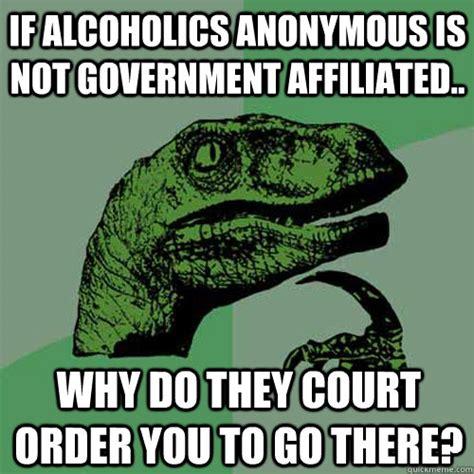 Anonymous Meme - alcoholics anonymous funny memes