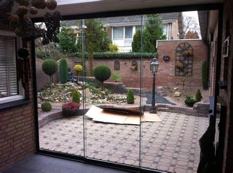 glaswand veranda tuinkamer tussen 3 muren variant 1 agaterras
