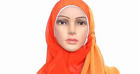 Pasmina Sifon Bolak Balik cantik muslimah pashmina chiffon bolak balik
