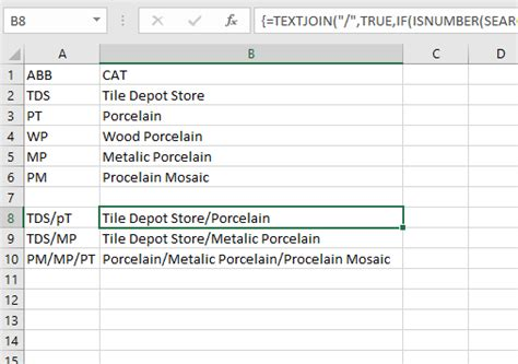 pattern matching javascript exle excel how can i create the equivalent of an explode