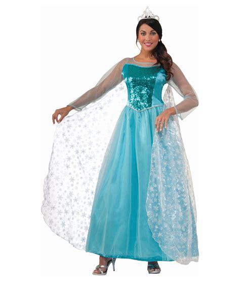 krystal ice princess womens costume