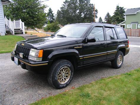 1993 Jeep Grand Flyprp 1993 Jeep Grand Cherokeelimited Sport Utility 4d