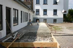 terrasse betonieren der weinhof in der krebsm 252 hle