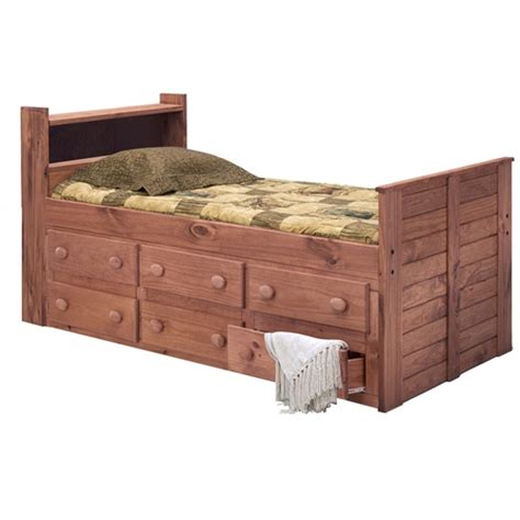 twin captains bed with bookcase headboard twin captain s bed bookcase headboard mahogany finish