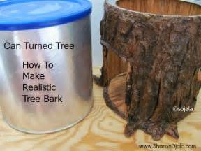How To Make A Fake Tree by Homemade Obsessions How To Make Realistic Tree Bark