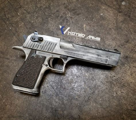 Desert Eagle Franky 1022 gallery koted arms professional cerakote services