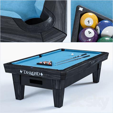 pro am pool table 3d models billiards the 8 quot pro am billiard table