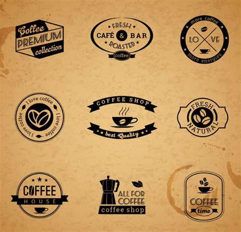 design a label in illustrator 9 retro coffee label design vector free vector in adobe