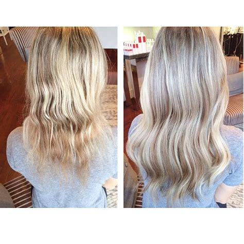 thin hair after extensions 23 best images about before after di biase hair