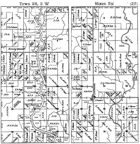plat maps index to plat maps of longwood township clark co wis