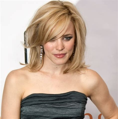 Was The Rachel Cut With Square Layers | hair and make up rachel mcadams apostscriptbride