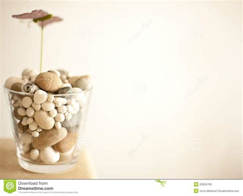 Vase With Stones by Vase With Stones Stock Photos Image 25624763