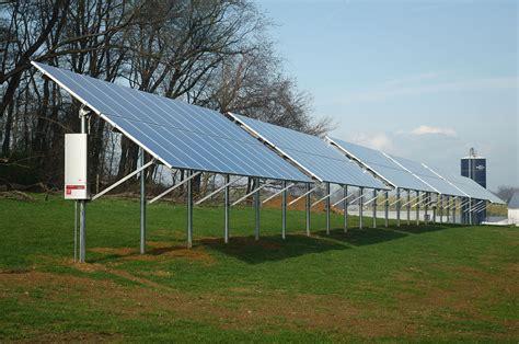 livestock and solar panels rangelands solar power in pennsylvania