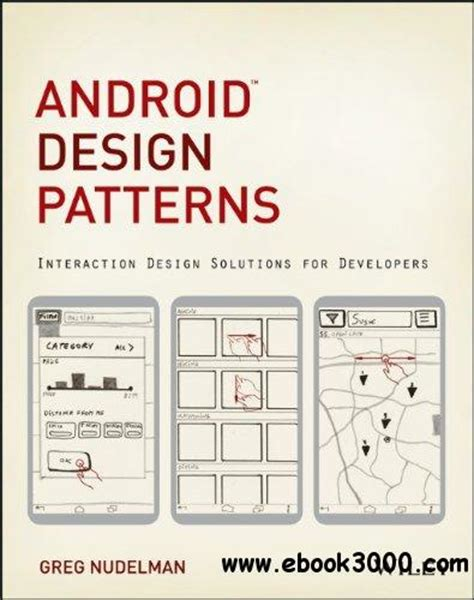 android pattern date android design patterns interaction design solutions for