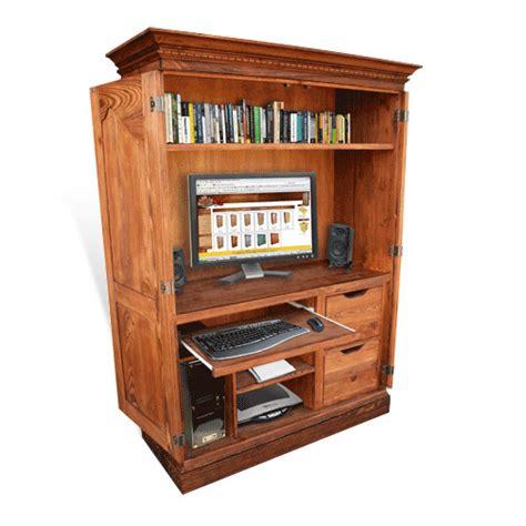 computer desk armoires computer armoires