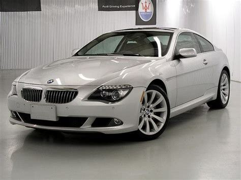 car engine manuals 2009 bmw 6 series on board diagnostic system sell used 2009 bmw 650i coupe premium pkg nav winter pkg head up disp 6spd manual in