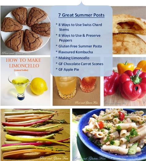 4 Great Posts With Summer In Mind by Poor And Gluten Free With Allergy 21
