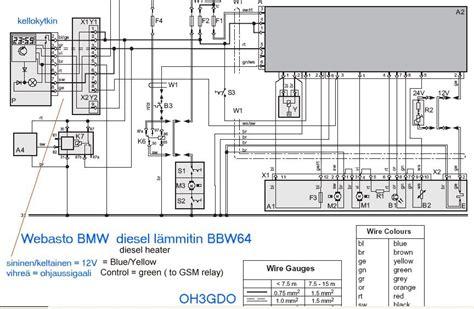 webasto coolant heater wiring schematic webasto get free