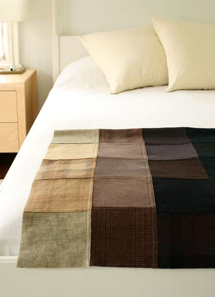 How To Make A Patchwork Throw - felted wool patchwork throw purl soho create