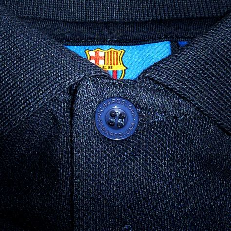 Polo Shirt Fans Club Barcelona fc barcelona official football soccer gift mens crest polo shirt navy blue