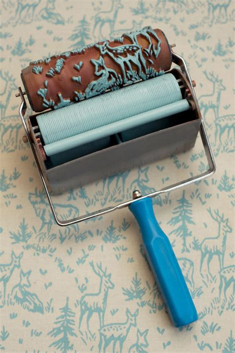 Roll Cat Motif Patterned Paint Roller 135 create your wall with patterned paint roller sufentan