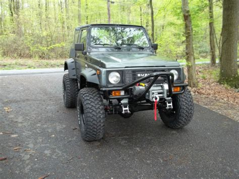 Suzuki Samurai Modified 1987 Suzuki Samurai Fresh Build Turn Key Modified