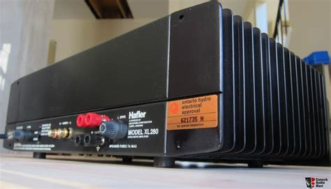 Power Lifier 280sx Made In Usa hafler xl 280 stereo wire gain power