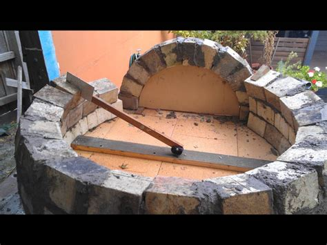 build a wood fired pizza oven in your backyard how to build a wood fired pizza bread oven 2016 project