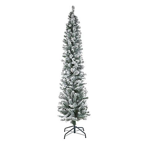 7ft pencil tree 7ft snowy pencil aritifical tree