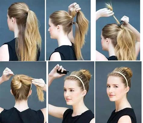 ponytailsmadeat the saloon high ponytail hairstyles step by hair