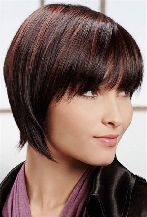 short hair toward face heart face shape hairstyle for short hair step by step for