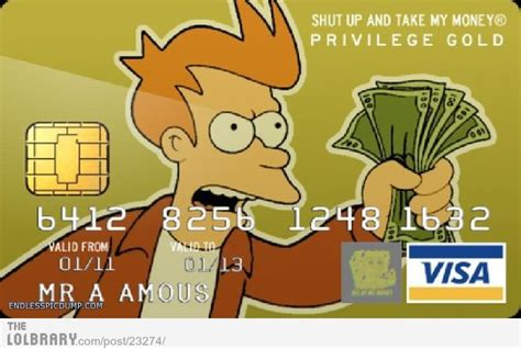 shut up and take my money card template daily bull 7 29 14 bull