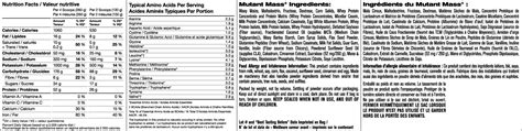 Mutant Mass Vanila 6 8 Kg buy mutant mass vanilla 6 8kg at mighty ape nz
