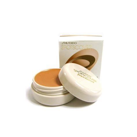 Shiseido Foundation shiseido spotscover foundation