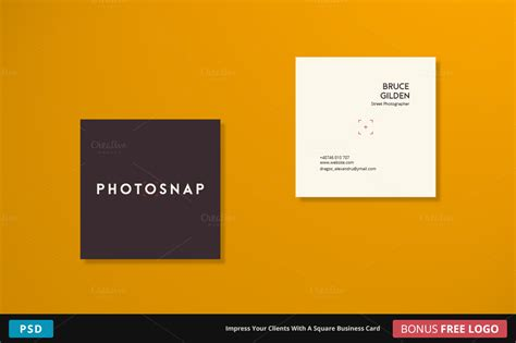 square card templates photosnap business card square business card templates
