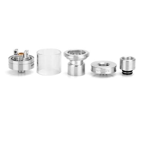 Authentic Serpent Mini Ss By Wotofo 22 Mm Hitam 1 authentic wotofo serpent mini rta silver rebuildable tank atomizer