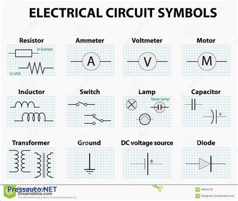 circuit diagram symbols list image collections how to
