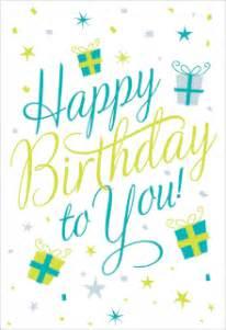 free printable birthday cards greetings island