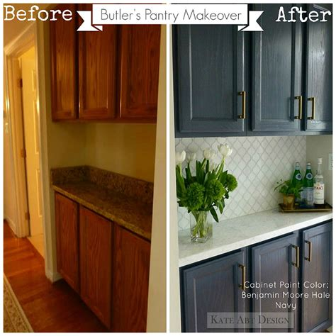 painted kitchen cabinets ideas before and after before after kitchen makeover ideas home bunch
