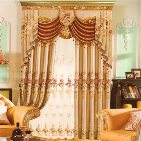 buy valance curtains beautiful brown floral embroidery buy curtains online no