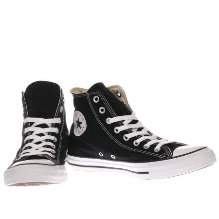 Conversehigh Total Black black converse high tops www pixshark images galleries with a bite
