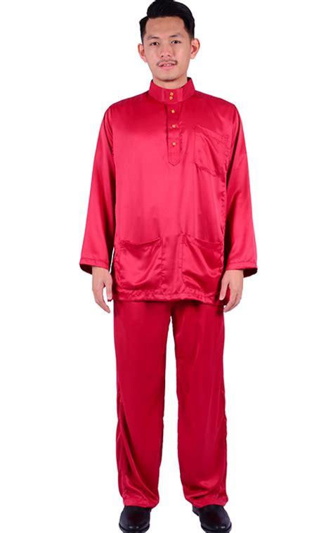 Baju Melayu baju melayu faliq maroon baju melayu