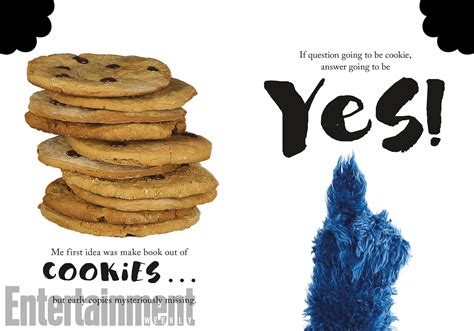 Book I Want Big Cookies by Sesame Workshop Announces Cookie Advice Book The