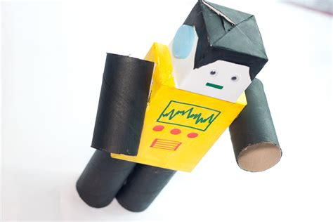 How To Make A Robot With Paper - how to make a paper robot 8 steps with pictures wikihow
