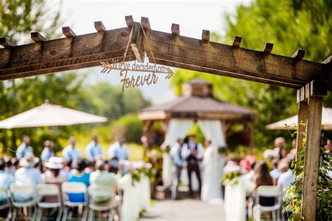 Chatfield Farms Weddings Receptions Denver Botanic Gardens Botanic Gardens Chatfield Wedding
