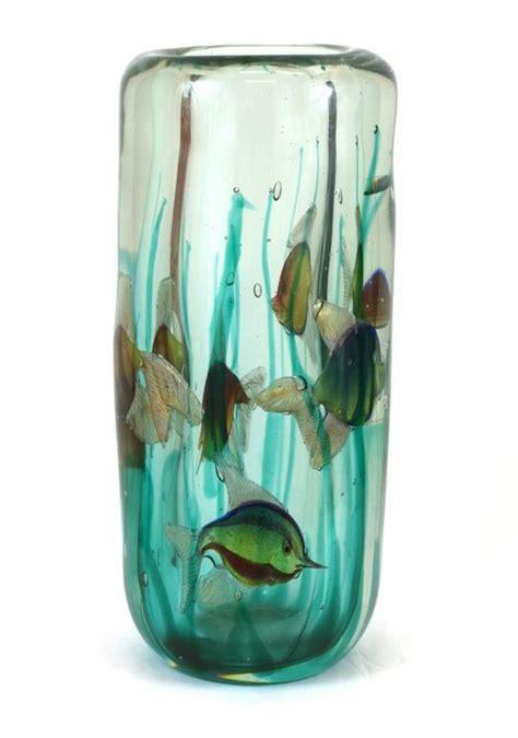 alfredo barbini aquarium vase  light base pauly