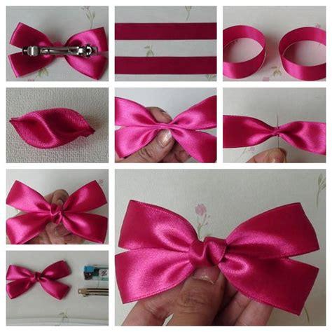 best bow making tutorial diy ribbon bow tutorial usefuldiy