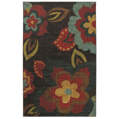 mohawk home accent rug mohawk ayanna 5 x8 rug 283786 rugs at sportsman s guide