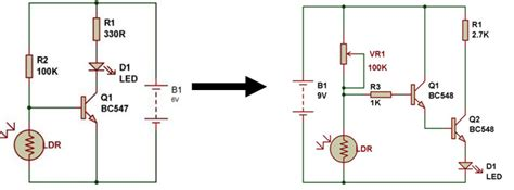 bc548 transistor circuit am receiver from sensor build circuit