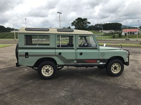 original land rover defender 1984 land rover defender santana diesel 4x4 all original